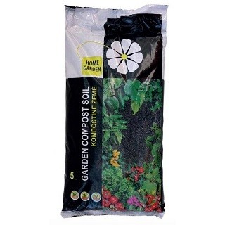 Universalus kompostas GARDEN SOIL, 5l