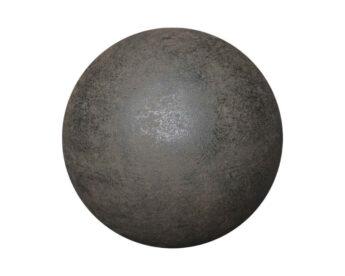 Rudos-spalvos-akmens-rutulys