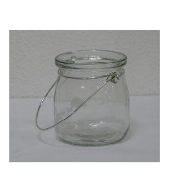 Kabinama-stiklinė-žvakidė