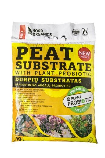 Universalus substratas su augalų probiotiku