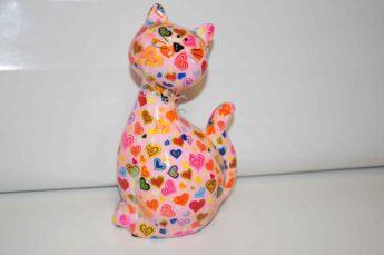 Taupyklė-katinas-rožinis