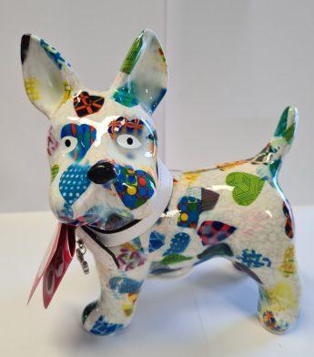 Taupyklė šuniukas (baltas)