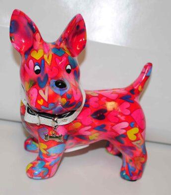 Taupyklė-šuniukas-raudonas